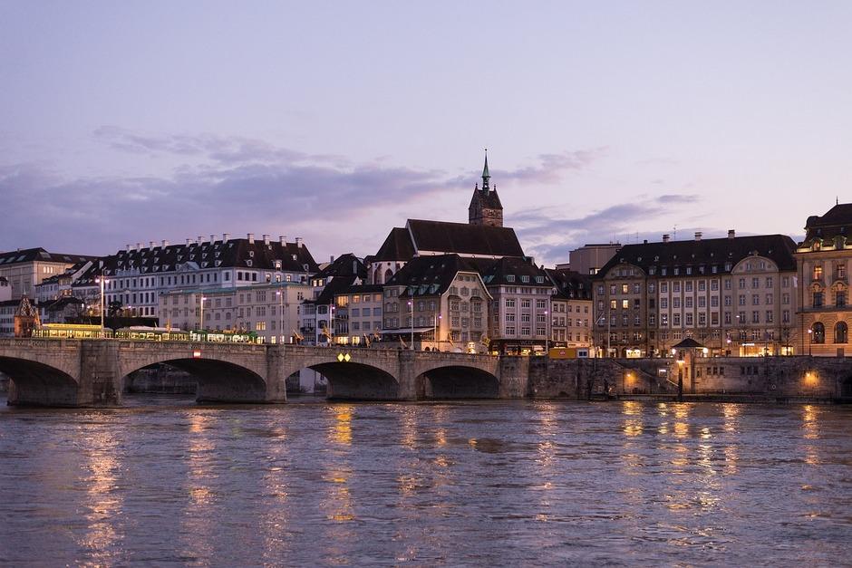 Rhine River Basel