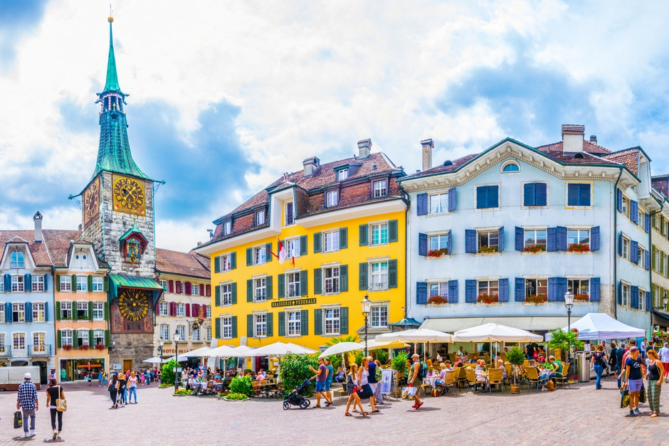 A picture of Solothurn Town, Switzerland.
