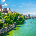A photo of Basel and the Rhine 940