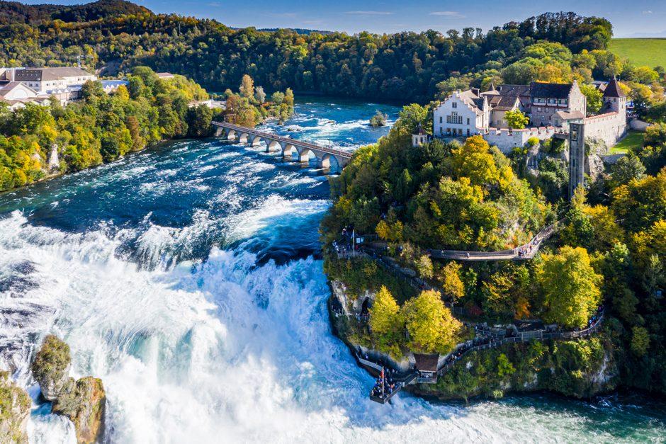 Schaffhausen Rhine Falls