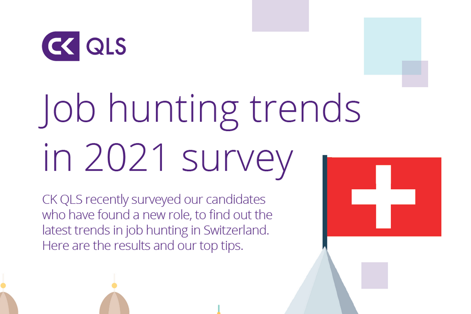 CK QLS job hunting trends in 2021 survey graphic